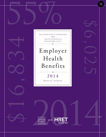 Kaiser health insurance premium study 2014 cover