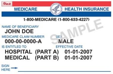 medicare card generic