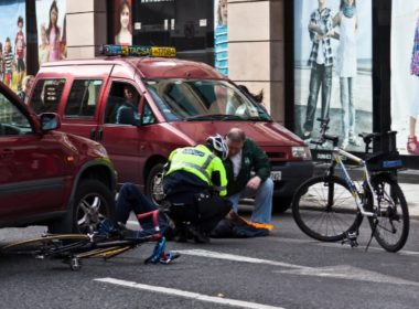 bike and car accident